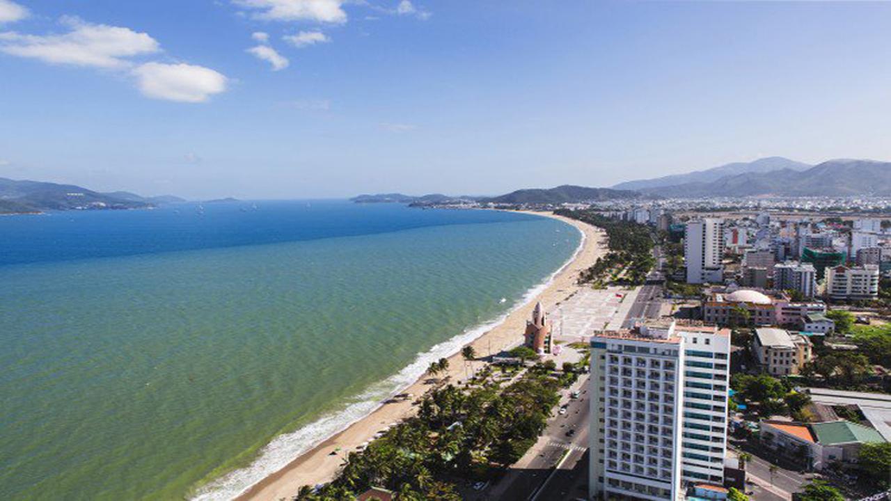Biển Nha Trang.