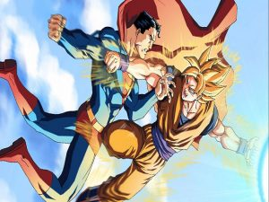 Anh Che Goku Va Sieu Nhan