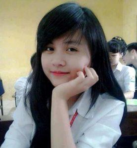 Anh Gai Nu Sinh De Thuong