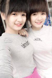 Anh Gai Song Sinh De Thuong