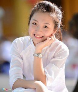 Hinh Anh Nu Sinh De Thuong Nhat